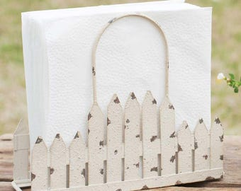 Picket Fence Napkin Caddy