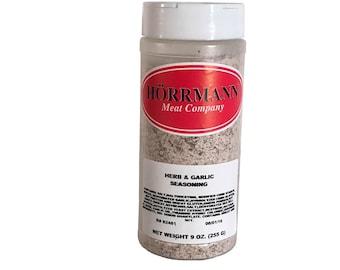 Hörrmann Meat Company Herb & Garlic Seasoning 9oz.