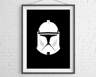 Star Wars - Stormtrooper - Darth Vader - Empire - Art Print - Wall Art