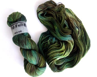 Sock Yarn Superwash Merino/Nylon 85/15 4ply Handdyed Yarn: EUCALYPT