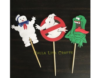 6 Set Ghostbusters Centerpieces