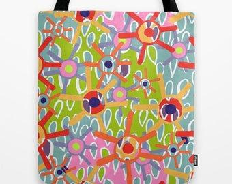 "Colour my world - Tote bag 16"" x 16"""