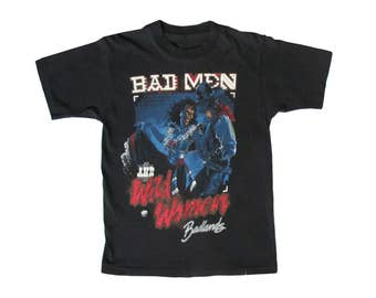 Vintage Badlands Bad Men & Wild Women T-Shirt