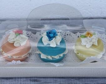 soap gift, gift soap, soap set, gift idea, macaroon soap, macaroon set soap, three soap set, spa gift, handcrafted soap, cold process soap