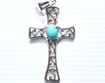 Sterling Silver Cross Pendant #6499