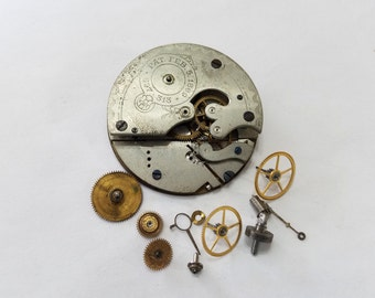 Antique, Vintage, Steampunk, Watch, Pocket Watch, Kit, Cogs, Gears, Wheels, Movement, Lot, Jewelry, Beading, Supply, Supplies