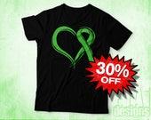 Lyme Disesase Shirt, Non Hodgkins Lymphoma, Muscular Dystrophy, Gastroschisis, Lime, Cancer Shirt, Awareness Shirt, Cancer Ribbon Shirt