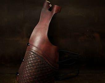 Full Length Arm guard / Bow Hand Glove Combo - Archery Arm Guard - Archery Bracer