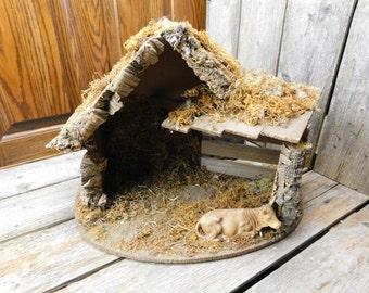 Vintage Italian Creche - Nativity - Manger