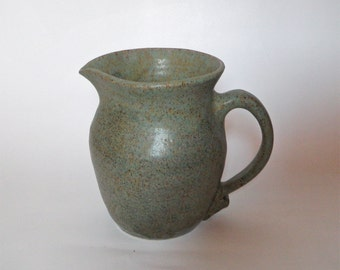 Agate Green Pitcher