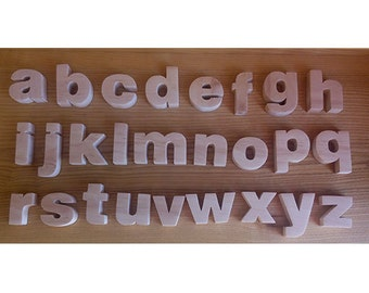 lower case alphabet magnetic alphabet english alphabet wooden alphabet wooden letters english abc wooden letters for nursery
