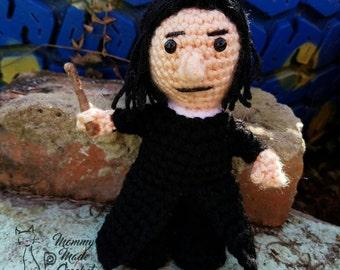 Severus Snape - Snape Buddy ****CROCHET PATTERN****