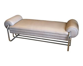 Vintage Donald Deskey Art Deco Bench