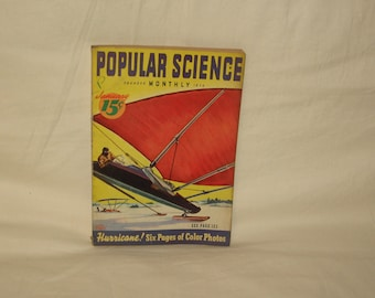 vintage january 1939 popular science magazine