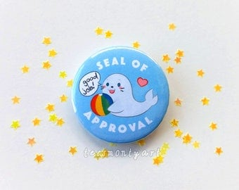 "Badge - ""Seal of approval"""