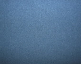 Fabric - cotton rib fabric - denim blue