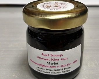 I make jelly from wine. It is like nothing else you have ever tasted. Whenever possible I use local wineries.