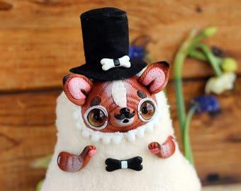 Chihuahua art toy dog doll ooak dog Chihuahua figurine kawaii chiwawa dog artwork cute doll Yorkshire Terrier