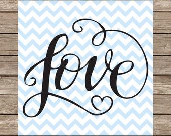 Love SVG cut file Valentine svg heart svg dxf cutting files silhouette cricut valentines day valentine's day valentines svg silhouette cameo