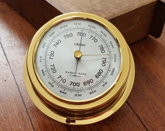 "vintage Sundo ""Marine Baro"" Comenps - Barometer"