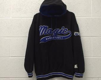 Vintage Orlando Magic starter hooded sweatshirt