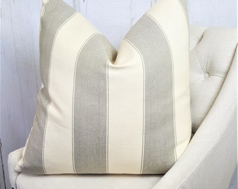 SALE, 24x24 Pillow Covers, 22x22, 18x18, 16x16, 20x20, 26x26, Lumbar, Designer Pillows, Tan, Accent Throw Covers, Decorative Pillows
