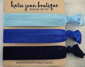 "Elastic Hair Ties - The ""Skye"" Collection"