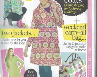 Ladies Sewing Pattern for Dresses and Coats UK Sizes 8 to 16 (E12)