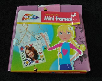 Childrens Crafts Make your own Mini Frames  (E58)
