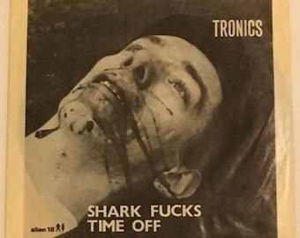 "Tronics ""Shark F***s"" (1981) - Alien Records - Includes Insert - NEAR MINT"