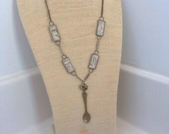 HeyDiddle handmade charm necklace