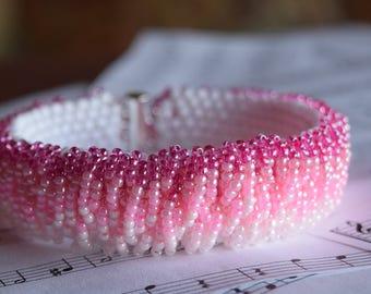 Fading Pink Bracelet