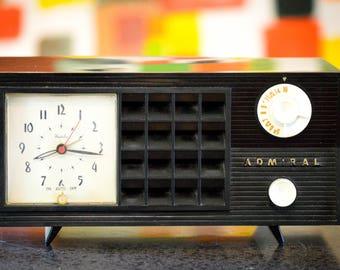 Bluetooth Speaker: 1950s Admiral Clock Radio Mp3 Player