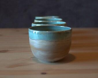 Handmade, Wheel thrown, porcelain | Matcha Bowls |