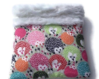 Hedgehog Snuggle Sack, Carrier Pouch, Sugar Glider Pouch, Cozy Den, Hamster Bedding, Chinchilla Cave, Cuddle Bag, Small Animal Bedding
