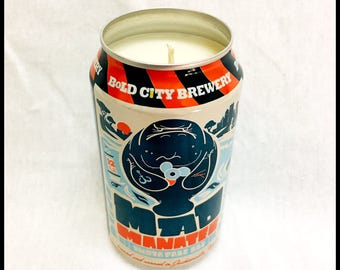 Vanilla Scent Beer Can CANdle
