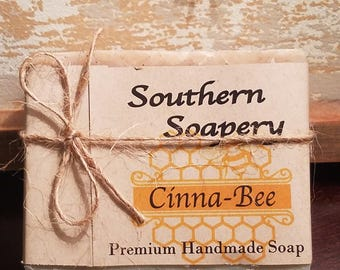 Cinna-Bee  Soap **FREE SHIPPING**