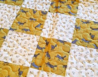 Quilt (Baby's) fox