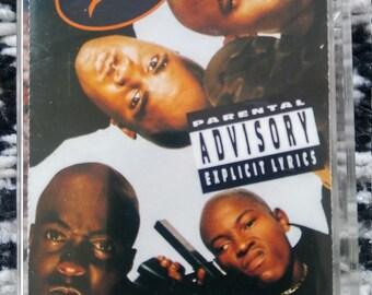 ONYX BACDAFUCUP 90's Rap Cassette Tape Hip Hop Vintage