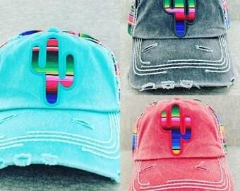 Cactus Serape Hat