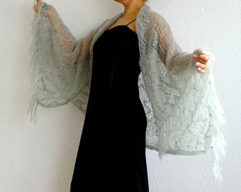 SALE, knit lace shawl, lace shawl, festival shawl, wedding shawl, mohair shawl, long shawl, lace wrap, cover up, gift ideas, ready to ship