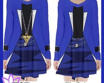 Yugi or Kaiba Long Sleeve Dresses