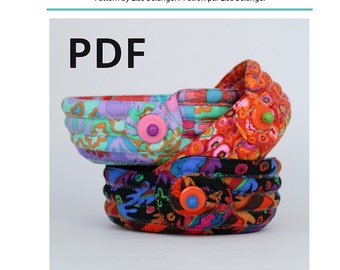 PDF Pattern Coin Tray Basket