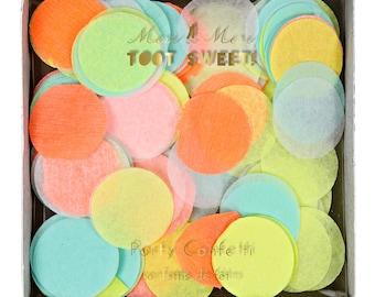 Neon Party Confetti