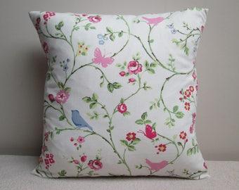 "Clarke & Clarke Bird Trail Cushion Cover Pillow Cover 16"""