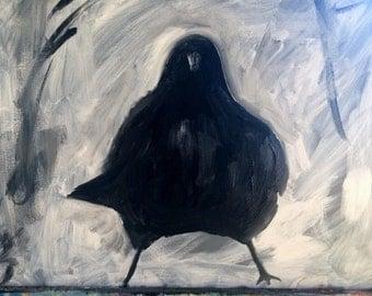 Crow Power Stance