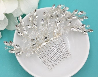 Bridal Rhinestone Crystal Comb, Bridal Comb Crystal, Wedding Crystal Hair Comb, Hair Accessories, Wedding Accessory 477532112