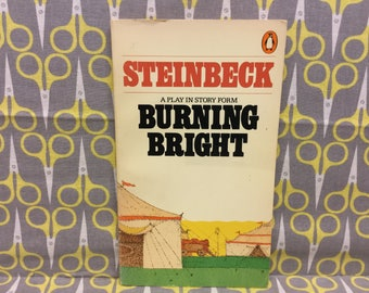 Burning Bright by John Steinbeck paperback book a Play in Story Form vintage