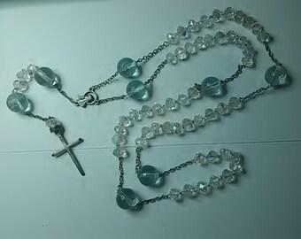 Rosary - Glass & Stone
