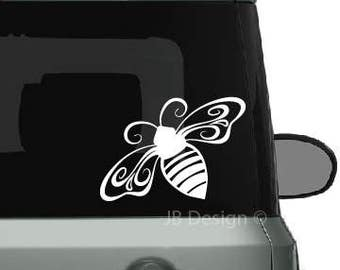 Honey Bee Cut Vinyl Decal